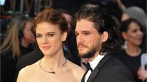 Kit Harington And Rose Leslie Reveal Wedding Date