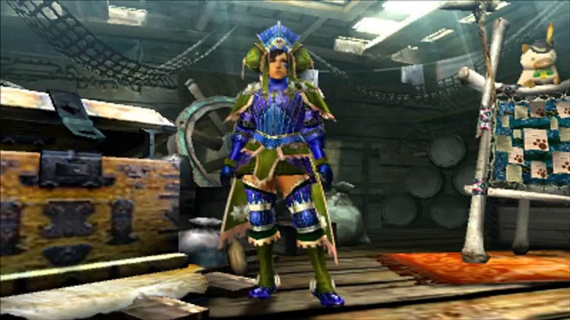 Monster Hunter XX: Empress/カイゼリン Blademaster Armor Overview (G Rank)