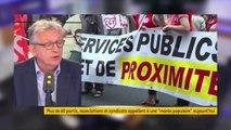 """Manifestations contre le gouvernement : """"Les fronts de mobilisation grandissent parce que la politique d'Emmanuel Macron est très agressive"""", estime Pierre Laurent, qui évoque """"un gouvernement très arrogant et très autoritaire"""" #8h30politique"""
