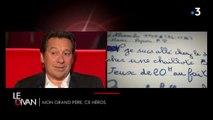 """VIDEO. """"Il m'a tellement appris"""" : Laurent Gerra ému aux larmes en évoquant son grand-père"""
