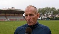 Féminines / Avant Amiens SC - HAC en barrage, interview de Thierry Uvenard