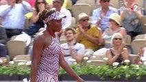 Roland-Garros : Venus Williams sortie d'entrée par Wang !