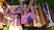 Volunteers Gather at Ohio Cemetery to Place Flags on Graves of Veterans in Honor of Memorial Day