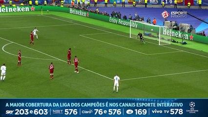GOL DO REAL MADRID! Bale faz mais um em uma falha bizarra do goleiro Karius!