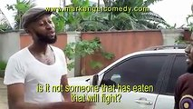 This VERY FUNNY Mark Angel Comedy video will make you laugh without control. Mark Angel will not try this again...lol