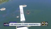 USS Arizona memorial at Pearl Harbor to remain closed indefinitely