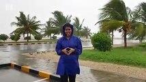 Shruthi Nair reports from Salalah, Dhofar as rains intensify while winds get stronger, as cyclone Mekunu gets closer to Salalah.