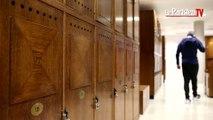 Visite de l'endroit le plus secret de Roland Garros : les vestiaires