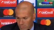 Zidane habla de la salida de Cristiano Ronaldo del Real Madrid • 2018
