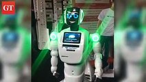 Meet the cute and smart 'consultants' of the post offices around Kazakhstan! As part of the Digital Post Office program, robots are used as consultants to serve