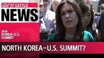 U.S., North Korea working to make June 12 summit happen: Trump