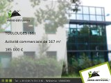 Activité commerciale A vendre Toulouges 167m2 - Zone d'Activités