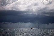 L'origine des tornades et des ouragans