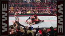 """""""Stone Cold"""" Steve Austin steals Kurt Angle's gold medals- Raw, Aug. 27, 2001"""
