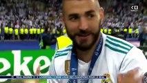 La superbe réaction après match de Benzema et sa fille après la victoire contre liverpool