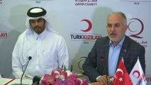 Kızılay ve Katar Hayır Kurumu'ndan Yemen'e 1 milyon dolarlık bağış - İSTANBUL