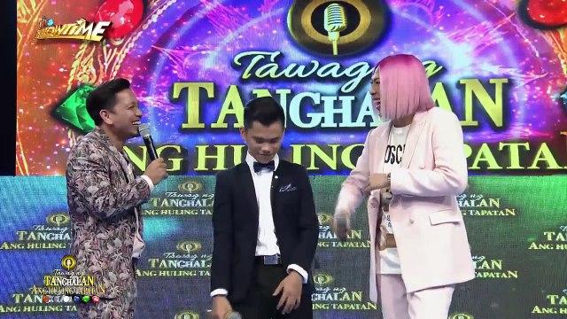 Tawag ng Tanghalan: Bakit nga ba gusto ni Vice ang amoy ng mga basketball player