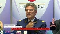 """Attaque terroriste à Liège : """"Il est clair que l'objectif de l'assassin était de s'en prendre à la police"""", Christian Beaupère, chef de corps de la police de Liège"""