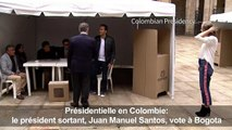 Colombie: vote du président sortant Juan Manuel Santos