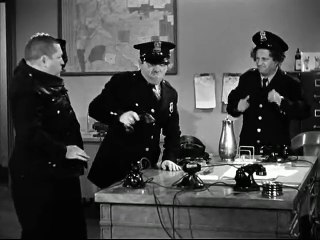 The Three Stooges 068 Dizzy Detectives 1943 Curly, Larry, Moe