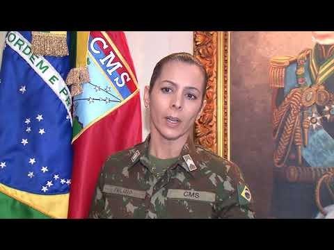 Mensagem oficial  do Comando Militar do Sul aos caminhoneiros