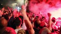 Montée du GF38 en Ligue 2 : les joueurs fêtés à leur retour à Grenoble