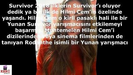Rodanthe  Hilmicem Aşkı  - Survivor 2018 Yunanistan