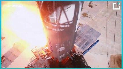 """ملخص عملية الإطلاق و الهبوط الناجحة لصاروخ مؤسس أمازون """"جيف بيزوس"""""""