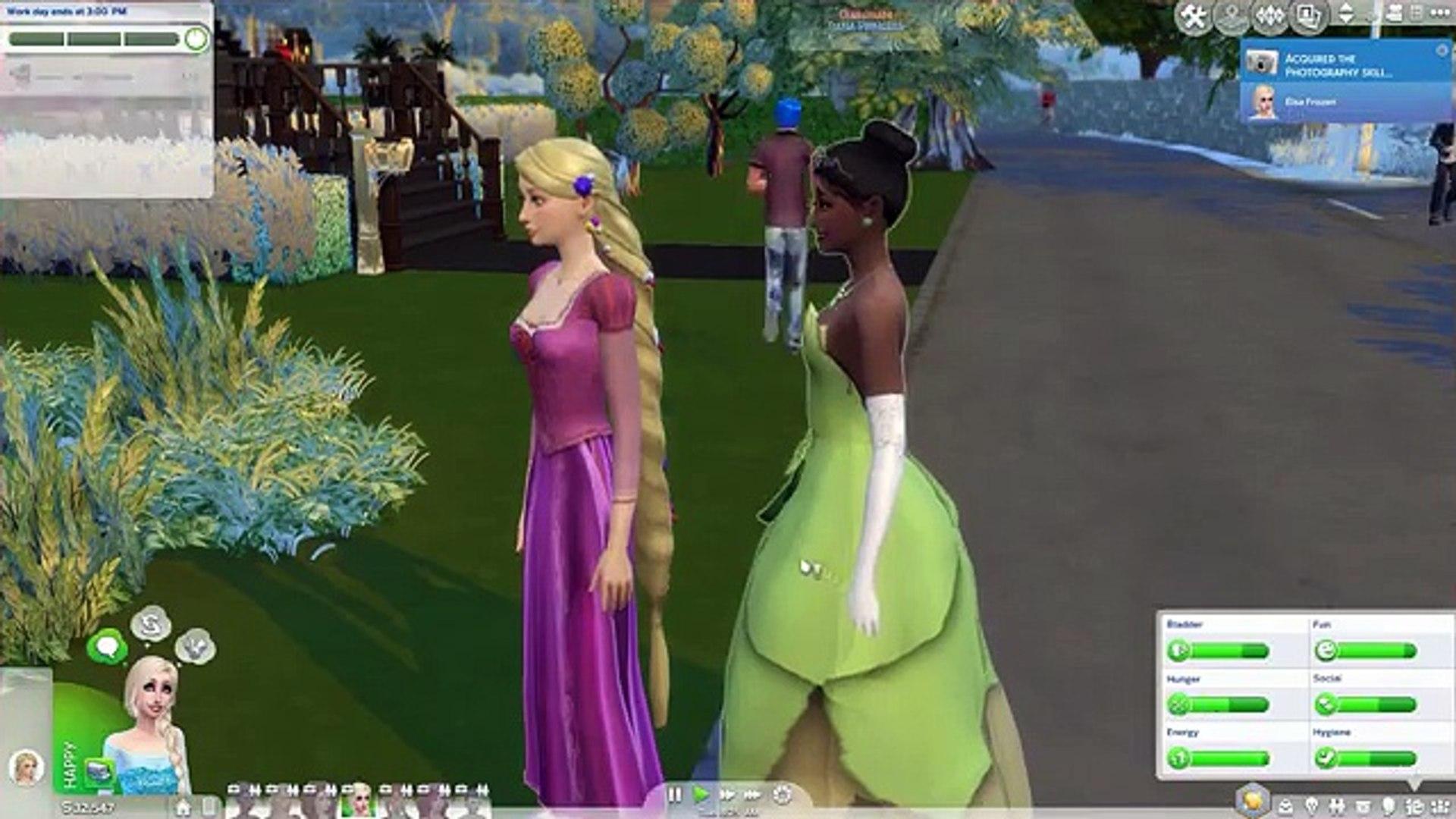 The Sims 4: Mystic Academy ✨ Ep. 3 ♛ Disneyland Club Gathering ♛