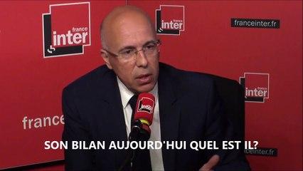"""Eric Ciotti """"Gérard Collomb n'est pas un bon ministre de l'intérieur"""" France Inter 28 mai 2018"""