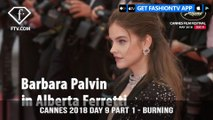Barbara Palvin at Burning Red Carpet at Cannes Film Festival 2018 Day 9 Part 1   FashionTV   FTVRCHD-BANNER
