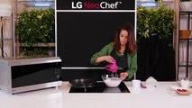 Mini pavlovas aux fruits rouges à réaliser au four micro-ondes combiné pour une cuisson rapide La RECETTE :