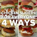 Chicken Sliders For Everyone 4 WaysTry making these four incredible sliders using your favorite Tyson Chicken from your freezer! Grab everything you need for