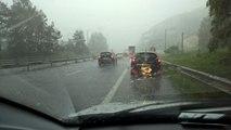 Impressionnant orage de grêle à Saint-Nabord