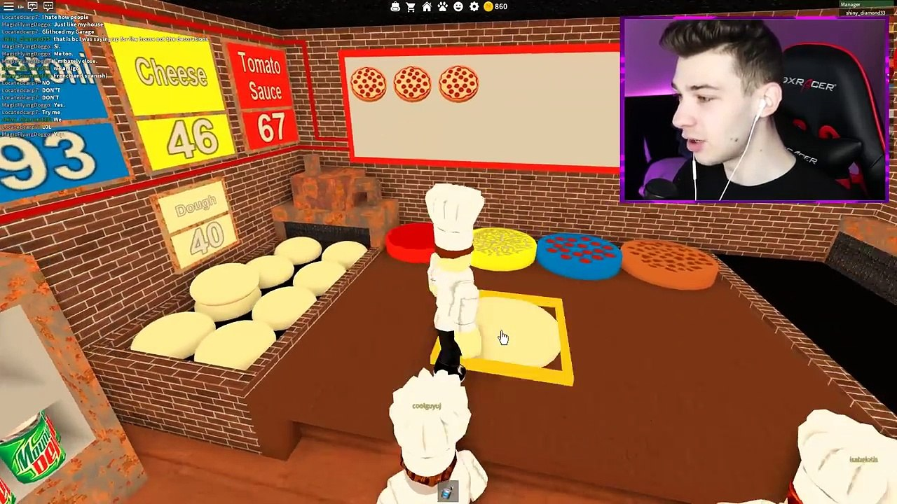 Buying The New Mansion Roblox Work At A Pizza Place