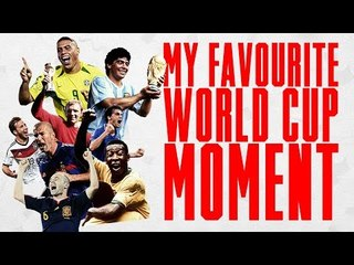 Ronaldo, Trent Alexander-Arnold and Kylian Mbappe reveal their favourite World Cup Moment!