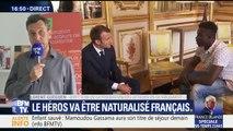 """Mamoudou Gassama: """"Nous appelons le Président à sortir de l'exemple"""" (directeur de la Fédération des acteurs de la solidarité)"""