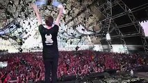 Amazing moments playing Trance Reborn (FYH100 Anthem) at Ultra Music Festival!! Super excited for next week because it will be the celebration of Find Your Harm
