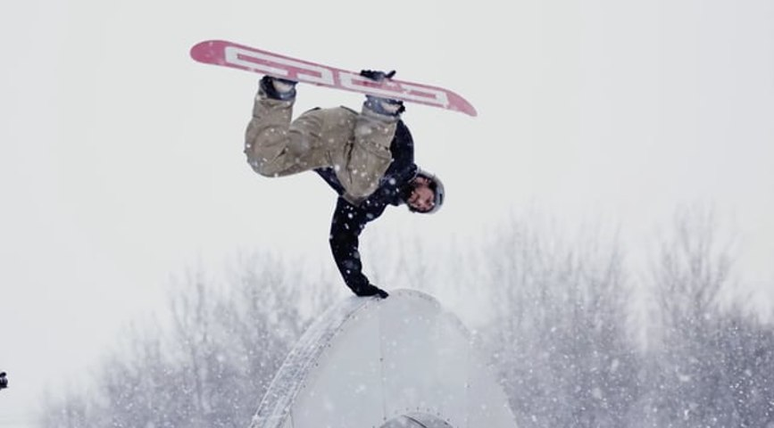 DC SHOES | The Making Of Real Snow With Anto Chamberland
