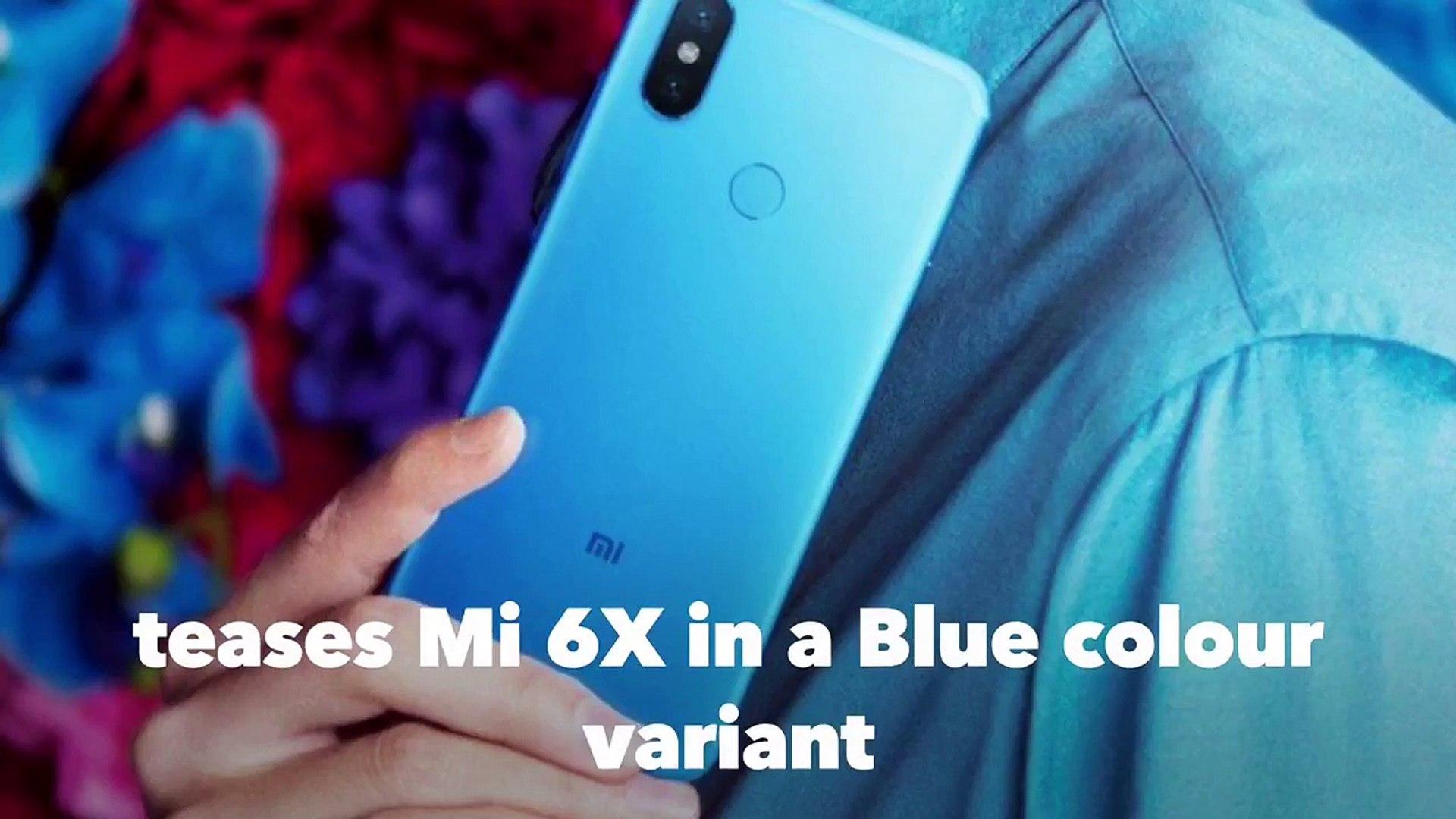 Xiaomi upcoming powerful phone Mi6x. Main features