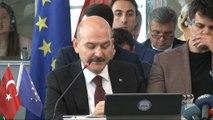 """İçişleri Bakanı Soylu: 'Türkiye göçü hafif gevşetse, biliniz ki Afganistan'dan Afrika'ya kadar Suriye'den Irak'a kadar herkes Avrupa'ya göçer"""""""