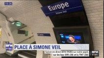 À Paris, Simone Veil a désormais sa place et sa station de métro