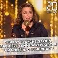 Qui est Blanche Gardin, première femme à remporter le Molière de l'humour ?