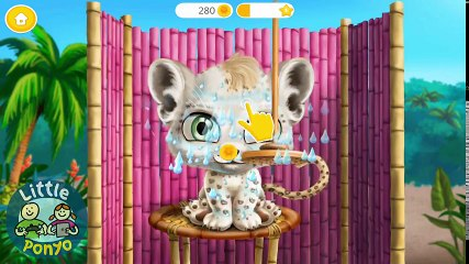 Fun Animals Care - Baby Jungle Animal Makeover Kids Games   Learn Colors & Hair Salon Games For Kids