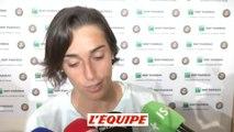 Garcia «J'étais un peu tendue» - Tennis - Roland Garros