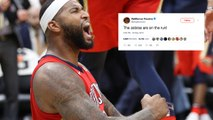 DeMarcus Cousins ACCUSES NBA Referees Of CHEATING To Help Warriors Win Game 7!