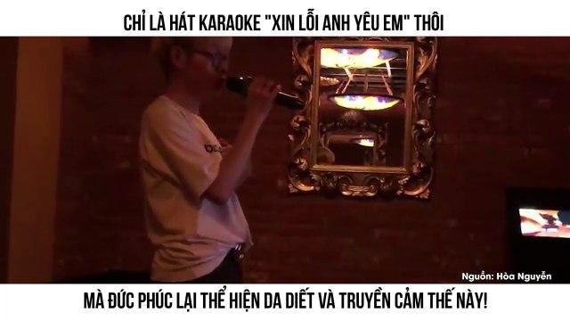 Chỉ là Karaoke thôi mà Đức Phúc có cần hát hay và truyền cảm như thế này không!