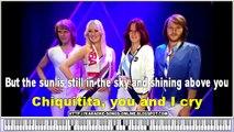 Abba - Chiquitita -Karaoke English Lyrics