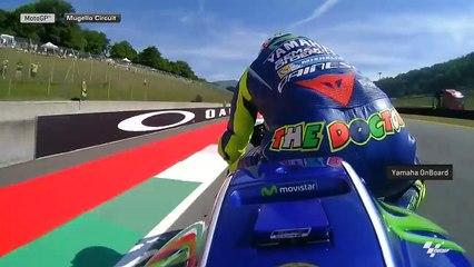 Mugello on board Rossi