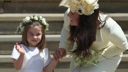 Princess Charlotte Is Basically The Queen's Mini-Me